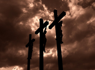 3 crosses image on Good Friday
