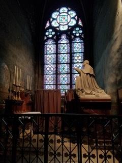 Notre Dame de Paris, side altar