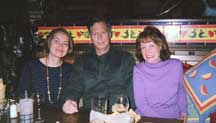 Patricia, Bob Hale and Fran Griffin
